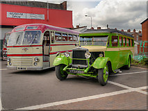 SD5422 : Tiger and Lioness, British Commercial Vehicle Museum by David Dixon