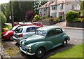 SO3013 : Morris Minor 1000 parked in Holywell Road, Abergavenny by Jaggery