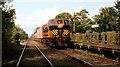 J2385 : Weed-spraying train,Templepatrick by Albert Bridge