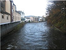NY2623 : River Greta in Keswick by Graham Robson