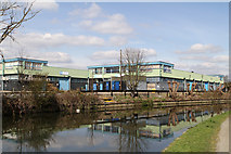TQ1579 : River Brent Business Park by Martin Addison