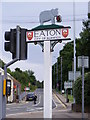TG2006 : Eaton Village Sign by Adrian Cable