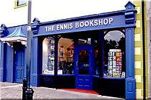 R3377 : Ennis - Friary Car Park - The Ennis Bookshop by Joseph Mischyshyn