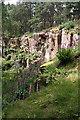 NJ1863 : Cuttieshillock Quarry by Anne Burgess