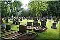 SD7411 : Churchyard of Christ Church, Harwood by Bill Boaden