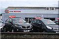 ST5716 : Yeovil: KIA Motors by Martin Bodman