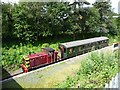 SJ6707 : Train at Horsehay & Dawlish station by Christine Johnstone