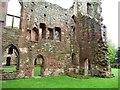 SJ5301 : North-east corner, Acton Burnell Castle by Christine Johnstone