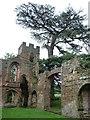 SJ5301 : South-east turret, Acton Burnell Castle by Christine Johnstone