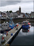 NR8668 : At A Quayside In Tarbert by James T M Towill