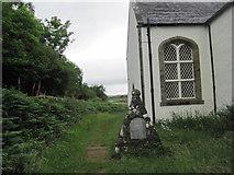 NM4339 : War Memorial, Ulva Church by Les Hull