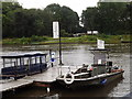 TQ0765 : Shepperton Ferry by Colin Smith