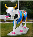 J5082 : 'CowParade' cow, Bangor by Rossographer