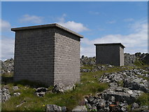 NR6880 : Cable Terminal Huts - Alternative View by James T M Towill