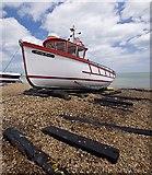 TR3752 : Beach boat, Deal by Paul Harrop