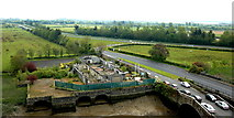 R4560 : Bunratty Castle - View from Top of Northeast Tower by Joseph Mischyshyn