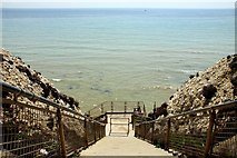 TQ4100 : Steps to the undercliff by Steve Daniels