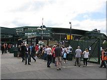 TQ2472 : Wimbledon No. 1 Court by G Laird
