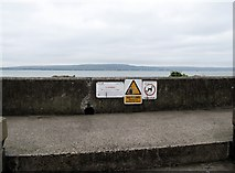 J3979 : Promenade walkway at Holywood by Eric Jones