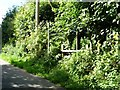 SE3440 : Entrance to footpath, Brandon Crescent by Christine Johnstone