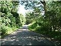 SE3440 : Passing place on Brandon Crescent by Christine Johnstone