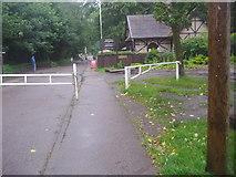 TQ2897 : Trent Park wildlife shelter shop by David Howard