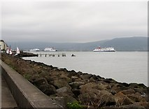 J3979 : Coastal defences at Holywood by Eric Jones