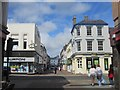 NX9718 : The junction of King Street and Lowther Street, Whitehaven by Graham Robson