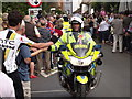 TQ0747 : Give Surrey Police a Big Hand by Colin Smith