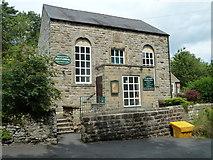 SK2474 : Methodist church, Calver by Andrew Hill