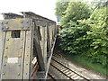 SO7100 : Bridge detail, A38 near former Berkeley Road railway station by Jaggery