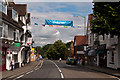 TQ2550 : West Street - ready for the Olympic Torch by Ian Capper
