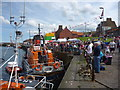 NT6779 : Dunbar Lifeboat Day - 21st July 2012 : A Good Turnout by Richard West