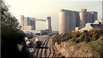 O0671 : Platin cement factory near Drogheda by Albert Bridge