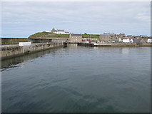 NJ1068 : Burghead Harbour by Alan Hodgson