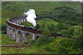 NM9081 : The Jacobite crosses Glenfinnan viaduct by Ian Taylor