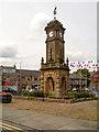 SD7332 : The Mercer Memorial Clock Tower by David Dixon