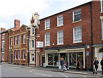 SO5139 : Hereford - buildings on St Owens Street by Dave Bevis