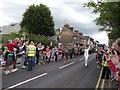 TR0161 : Olympic Torch Relay Runner in Faversham by David Anstiss