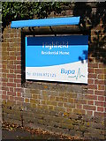 TM3876 : Highfield Residential Home sign by Adrian Cable