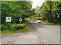 SD7534 : Whalley Road at Bridge Hey Wood by David Dixon