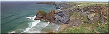 SW8469 : Pendarves Point, Cornwall by Len Williams