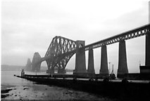 NT1378 : Hawes Pier and the Forth Bridge - 1978 by Andrew Richardson
