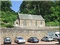 NS8842 : New Lanark Church by John M