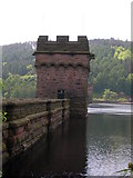 SK1789 : East Tower, Derwent Dam by John Topping