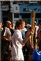 TQ2989 : Olympic torch by Julian Osley