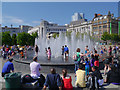 SJ8498 : The Fountains, Piccadilly Gardens by David Dixon