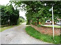 SE3737 : Stockheld Lane, east of Nook Road by Christine Johnstone