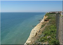 TQ4000 : Cliffs and promenade at Peacehaven by Dave Spicer