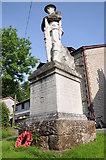SO2160 : War memorial, New Radnor by Philip Halling